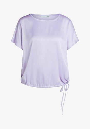 Basic T-shirt - orchid petal