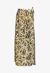 Wolf & Whistle - TIGER AND CHAIN ANIMAL BEACH SKIRT - Complementos de playa - brown - 4