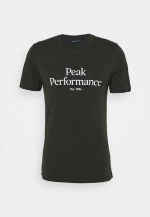 ORIGINAL TEE - Print T-shirt - coniferous green