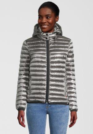 MIT ABNEHMBARER  - Down jacket - iron