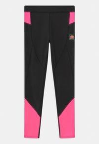 Ellesse - EMILIARA - Leggings - black/neon pink - 0