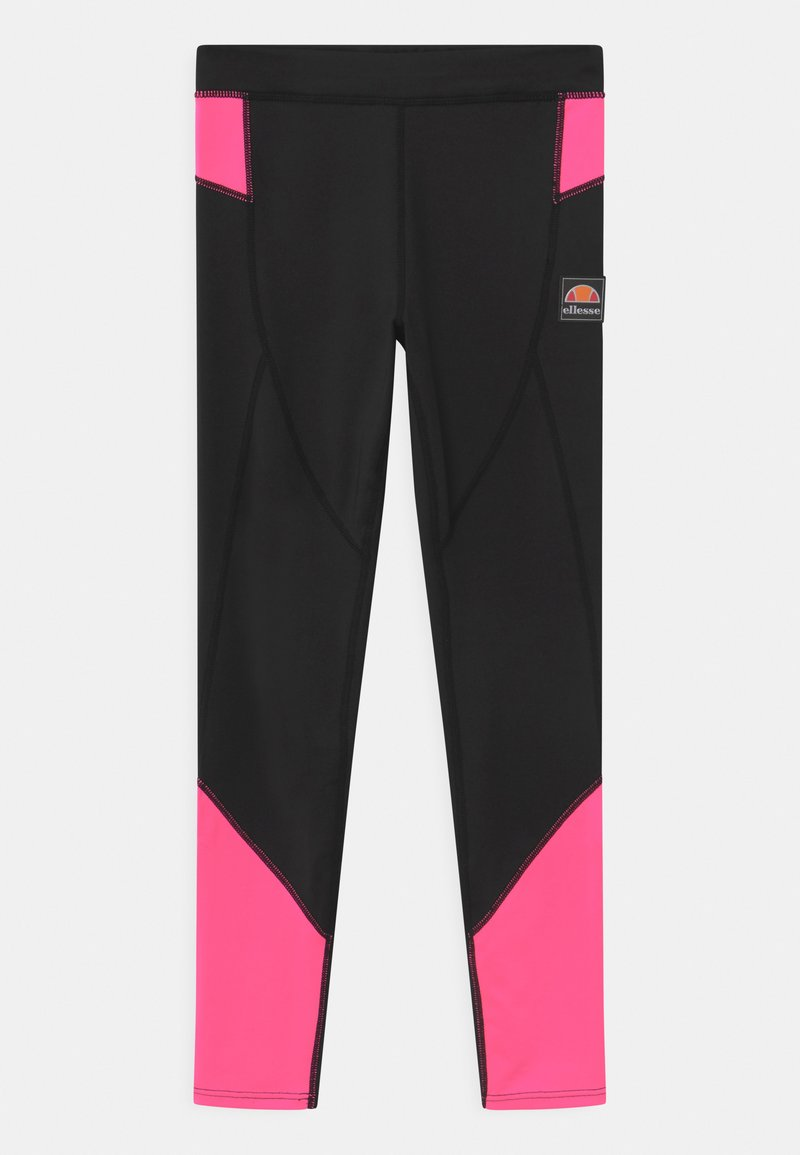 Ellesse - EMILIARA - Leggings - black/neon pink