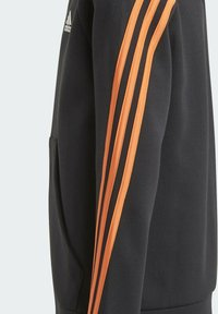 adidas Performance - STRIPES DOUBLEKNIT FULL-ZIP HOODIE - Training jacket - black - 2