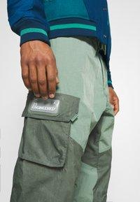 Jordan - PANT - Trousers - spiral sage/white - 6