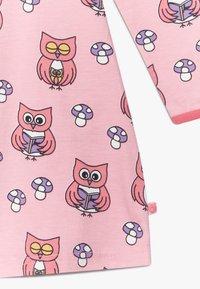 Småfolk - DRESS OWL - Jersey dress - sea pink - 3