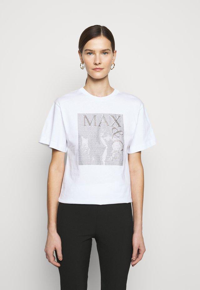 TEEREX - Print T-shirt - white