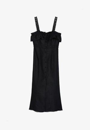 00517253 - Vestito lungo - black