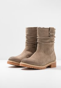 Tamaris - Classic ankle boots - taupe - 4