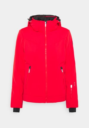 ERIE - Ski jacket - coral red