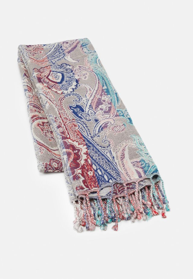 PAISLEY JACQUARD - Halsdoek - light grey
