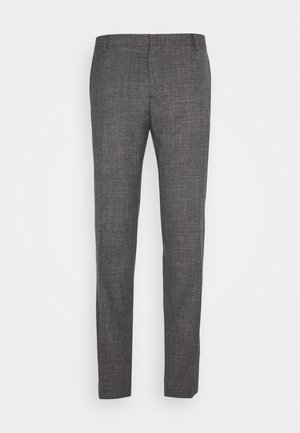 SLIM FIT SEPARATE PANT - Suit trousers - grey
