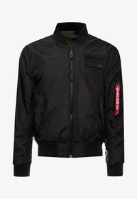 Alpha Industries - REVERSIBLE TEDDY - Bomberjacks - black - 8