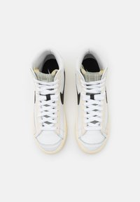 Nike Sportswear - BLAZER MID '77 - High-top trainers - summit white/black/pale ivory/beach - 6