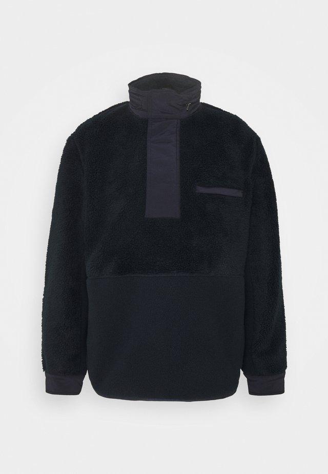 COLLINS ZIP - Fleece jacket - dark blue