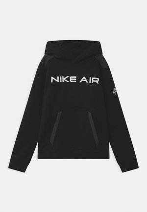 AIR - Hoodie - black/dark smoke grey/white