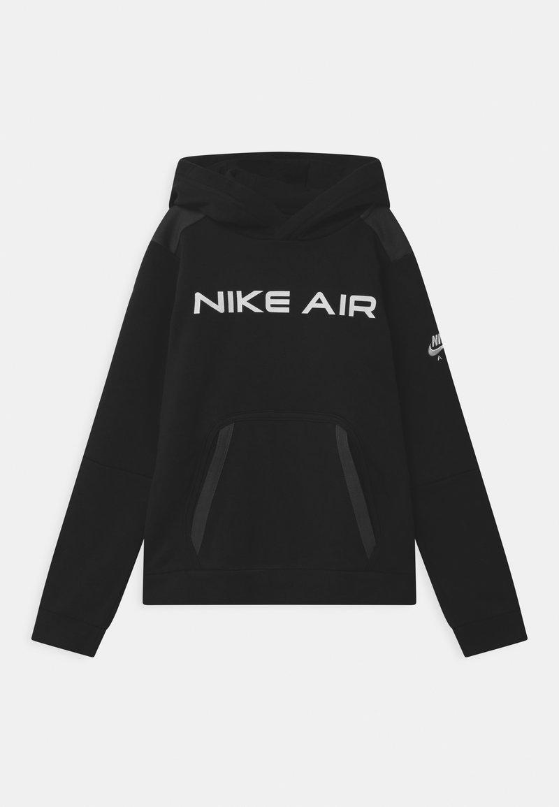 Nike Sportswear - AIR - Hoodie - black/dark smoke grey/white