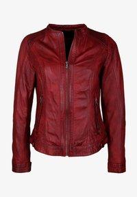 7eleven - VANESSA - Veste en cuir - red - 4