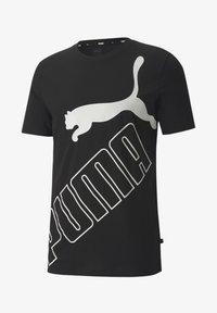 Puma - T-shirt con stampa - black - 3