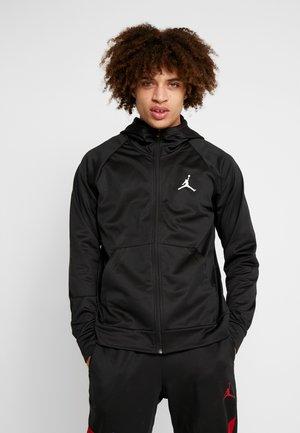 ALPHA THERMA - Fleece jacket - black/white