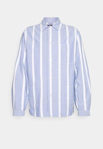 LONG SLEEVE - Shirt - blue/white