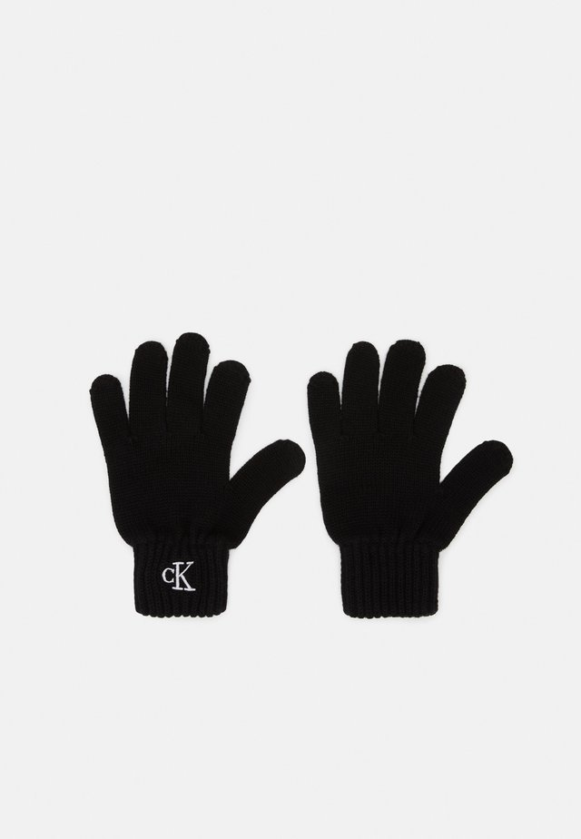 MONOGRAM GLOVES - Gants - black