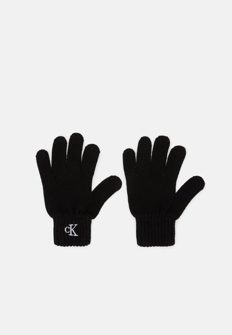Calvin Klein Jeans - MONOGRAM GLOVES - Handschoenen - black