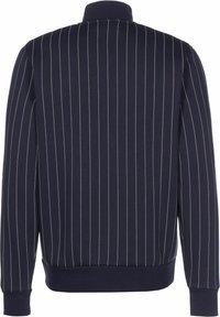 Puma - PINSTRIPE - Zip-up sweatshirt - peacoat - 1
