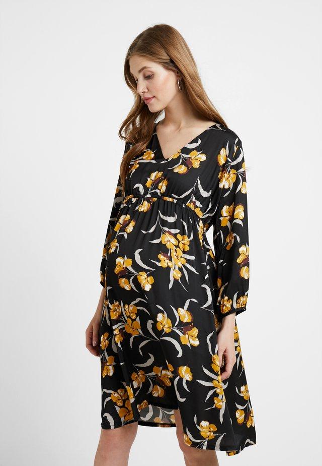 DRESS 7/8 - Korte jurk - black