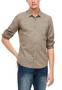 Q/S designed by - Shirt - light brown - 6