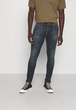 SKINNY LIN - Jeans Skinny Fit - aged indigo