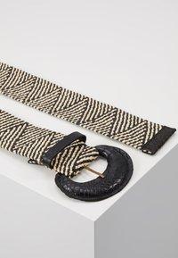Vanzetti - Belte - black/offwhite - 3