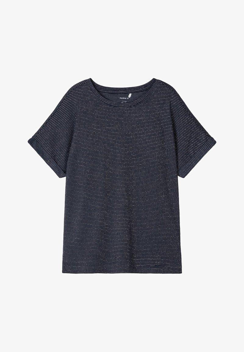 Name it - Basic T-shirt - dark sapphire