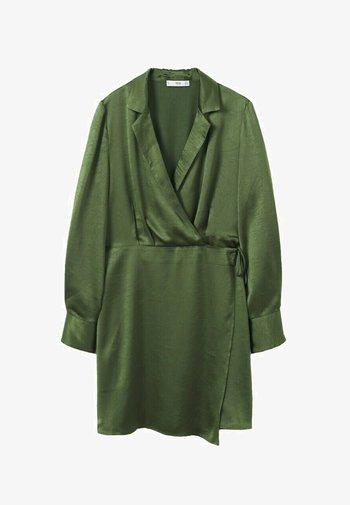 Jersey dress - grønn