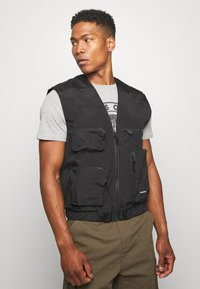 Good For Nothing - UTILITY VEST - Liivi - black - 0