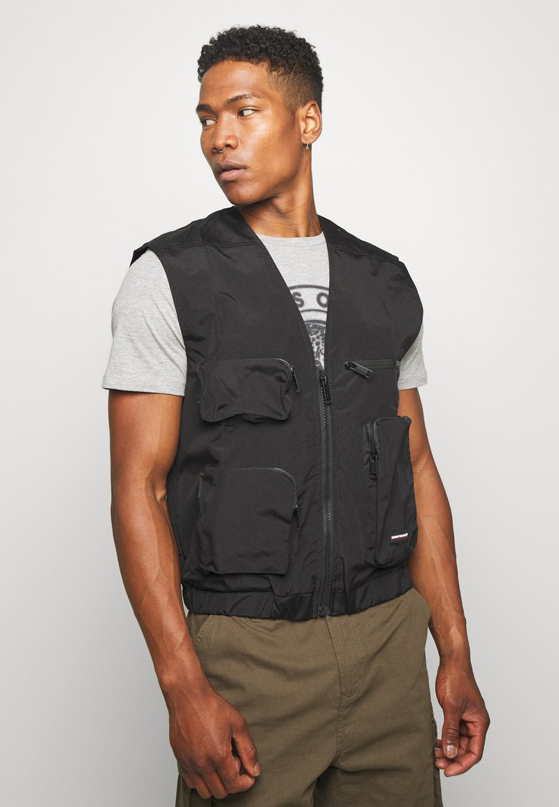 Good For Nothing - UTILITY VEST - Liivi - black