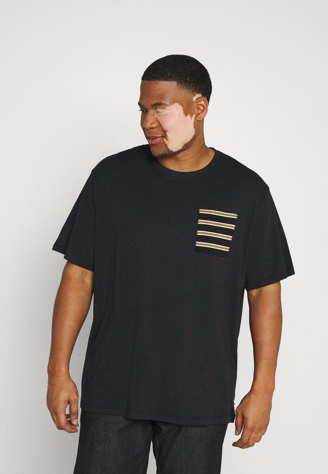 ONSMELTIN LIFE POCKET TEE - Print T-shirt - black