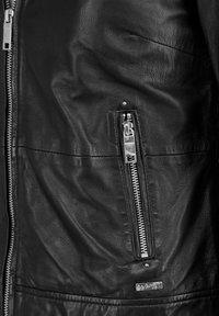 Maze - Leather jacket - black - 2