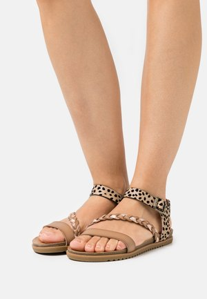 VEGAN MARLAH - Sandals - sand/pixie/multicolor
