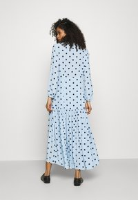 Ghost - ALANYA DRESS - Robe d'été - light blue/black - 2
