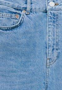 PULL&BEAR - HIGH WAIST - Straight leg -farkut - blue - 6
