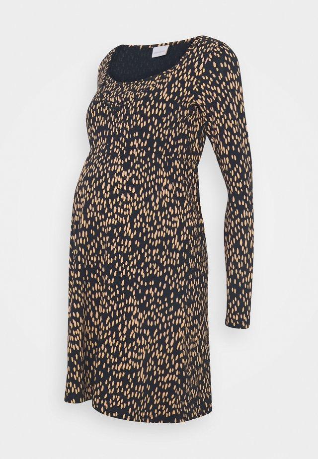 MLIRENA NELL SHORT DRESS - Žerzejové šaty - blues/rose cloud cream gold