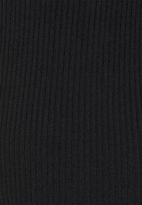 Even&Odd - Pletené šaty - black - 5