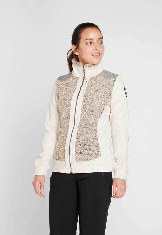 TOKIO - Zip-up hoodie - off-white/beige