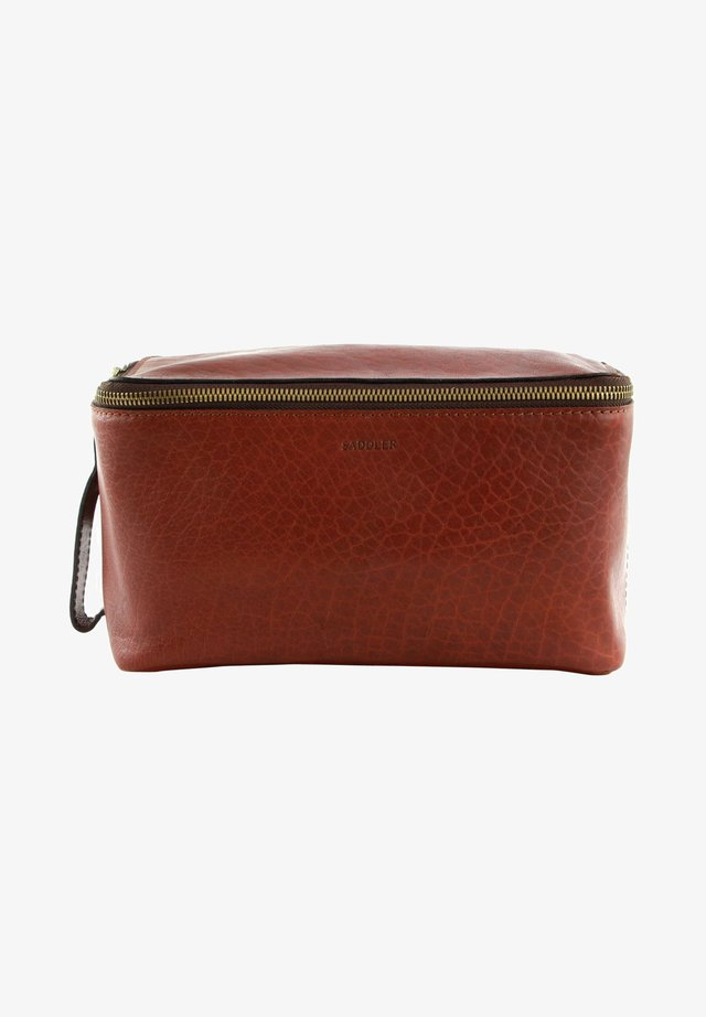 Wash bag - midbrown