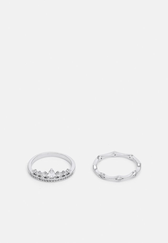 PICTAVIA 2 PACK - Ring - clear on