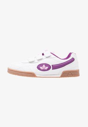 BERNIE V - Baskets basses - weiß/lila/rosa