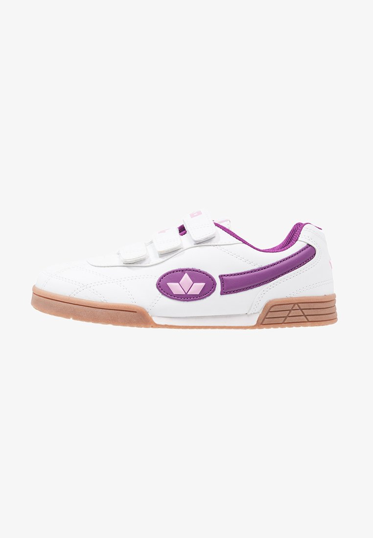 LICO - BERNIE V - Baskets basses - weiß/lila/rosa