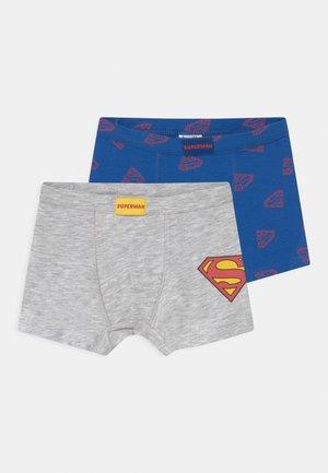 SUPERMAN 2 PACK - Underkläder - nautical blue