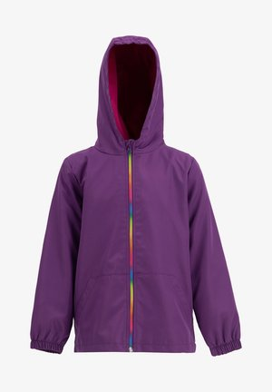 Waterproof jacket - purple