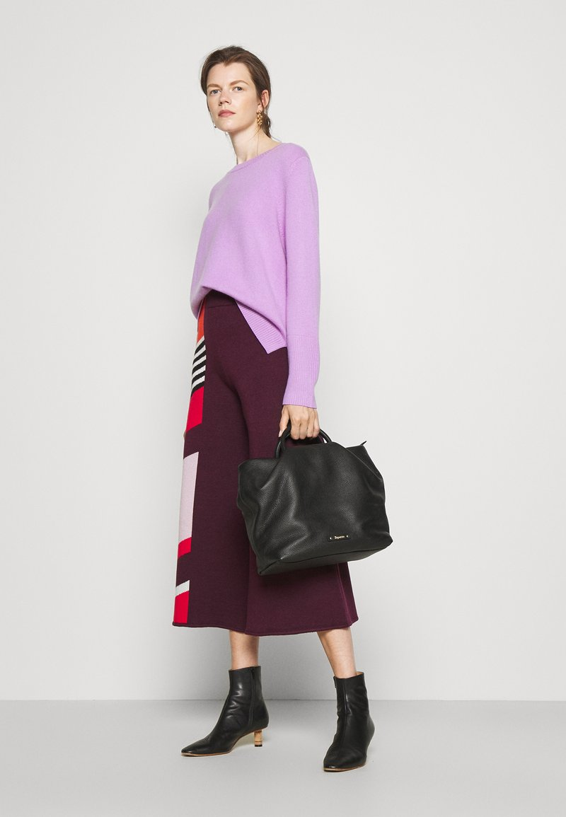 Repetto - GRAND DRAPPE - Shopping bag - noir